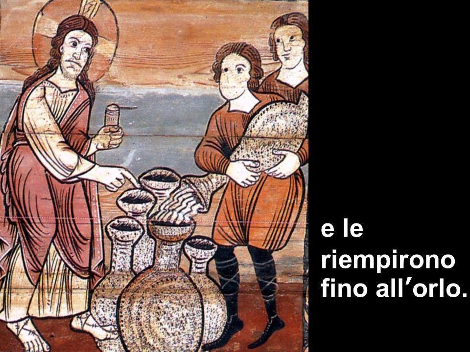 Matteo 3,1-12 e le riempirono fino allorlo.