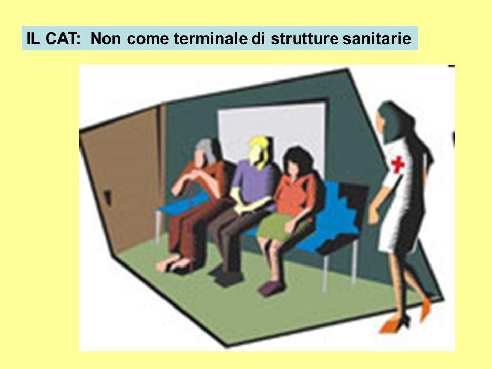 IL CAT: Non come terminale di strutture sanitarie
