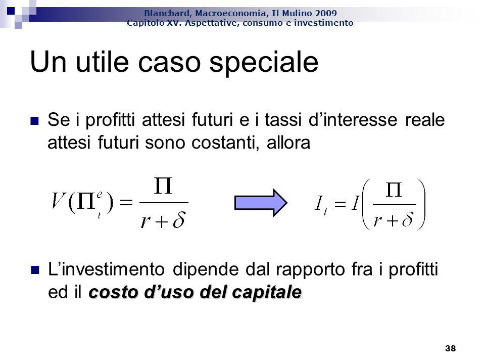 Blanchard, Macroeconomia, Il Mulino 2009 Capitolo XV.
