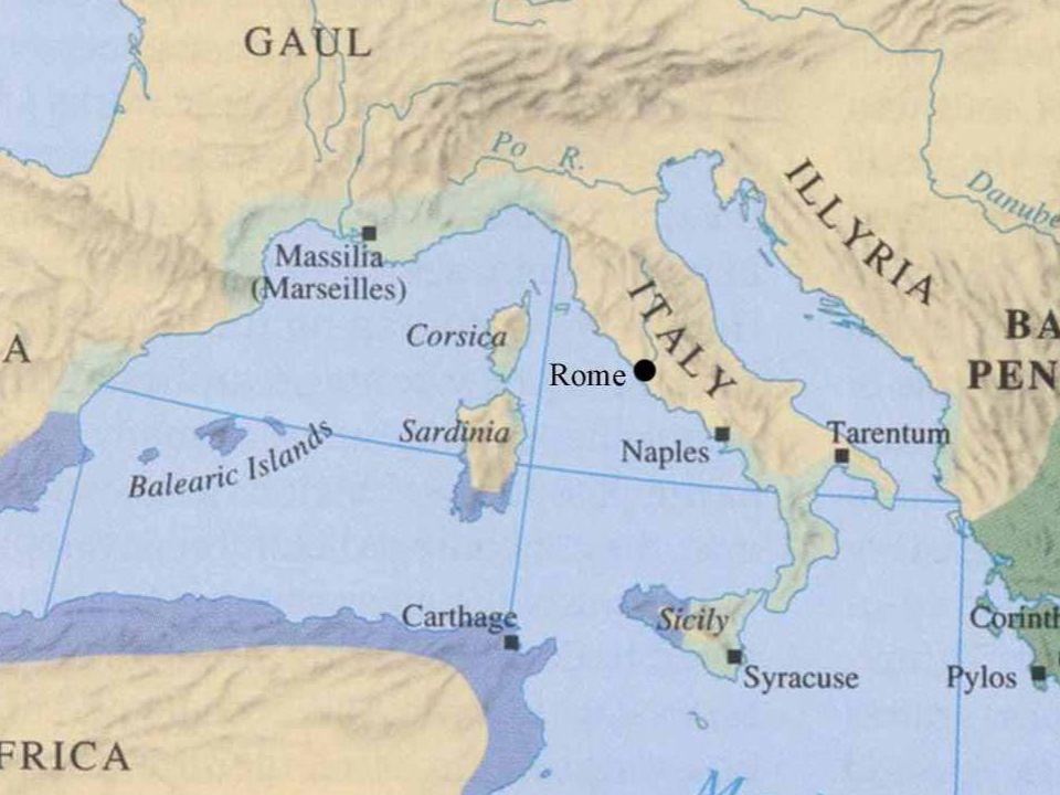 VERSO UNA NUOVA GUERRA Poi Roma si allea con Sagunto (sotto lEbro)contro i Cartaginesi Poi Roma si allea con Sagunto (sotto lEbro)contro i Cartaginesi Annibale Barca la attacca e la vince nel 219 Annibale Barca la attacca e la vince nel 219 È la scintilla per un nuovo conflitto È la scintilla per un nuovo conflitto