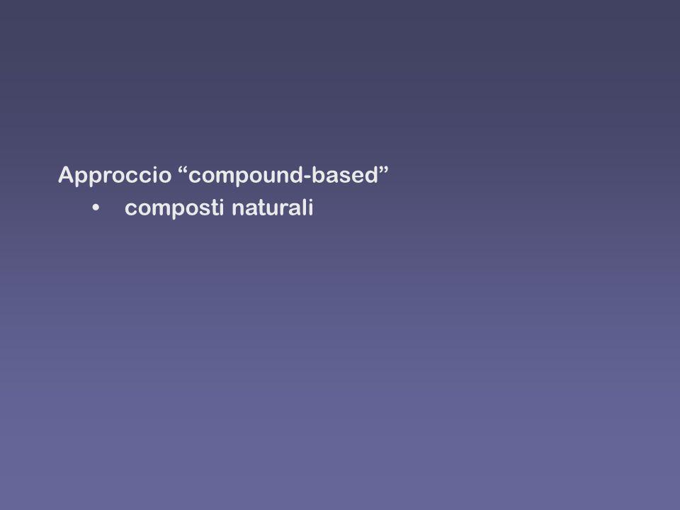 Approccio compound-based composti naturali