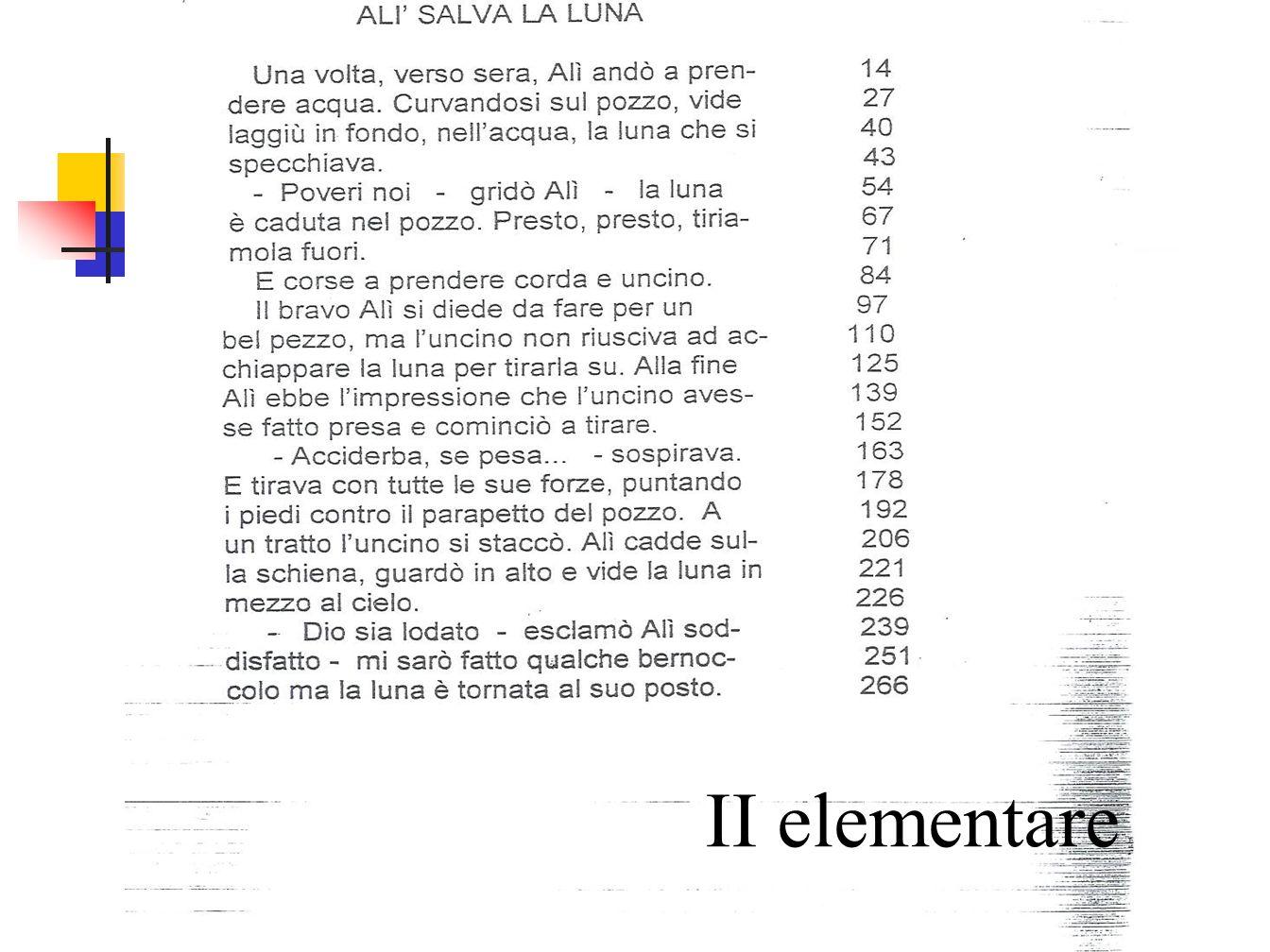 - screening II elementare- AID II elementare