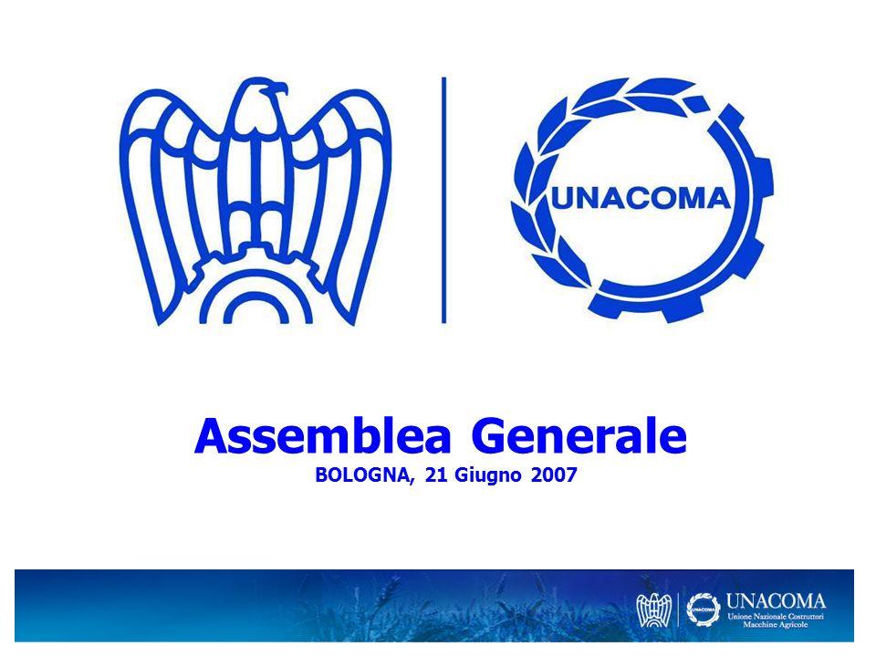 Assemblea Generale BOLOGNA, 21 Giugno 2007