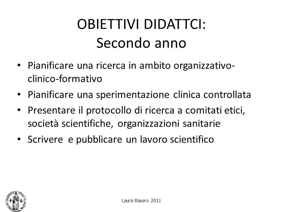 Laura Rasero 2011 Il protocollo di ricerca Item Suggerimenti 8.