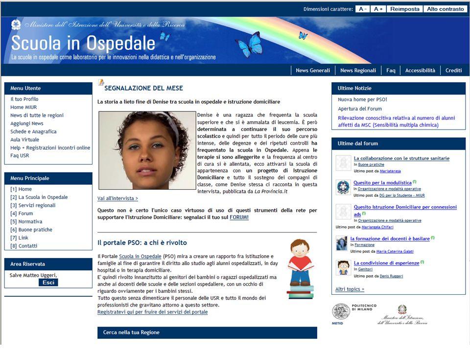 METID – Politecnico di Milano Oggi: un portale completamente nuovo, dinamico e costantemente aggiornato