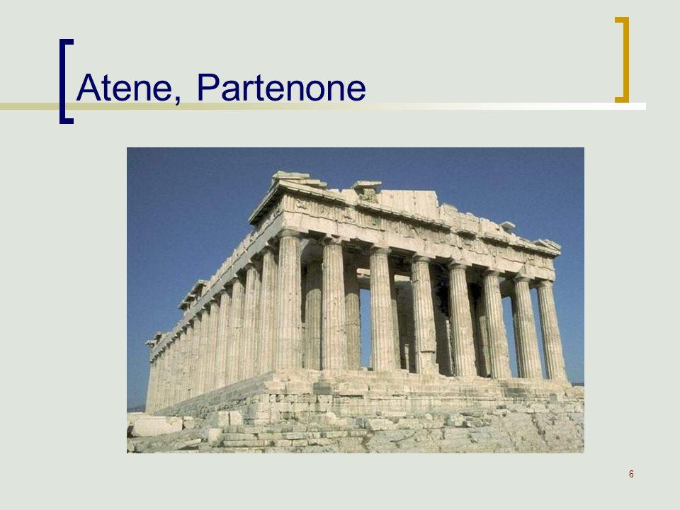 6 Atene, Partenone