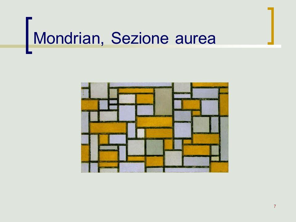 7 Mondrian, Sezione aurea
