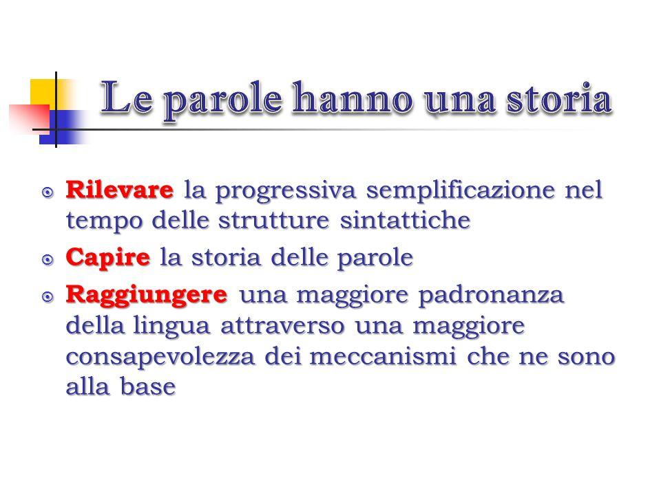 Un approccio ai testi letterari sotto il profilo linguistico permette di: Acquisire coscienza della storicità della lingua italiana. Acquisire coscien
