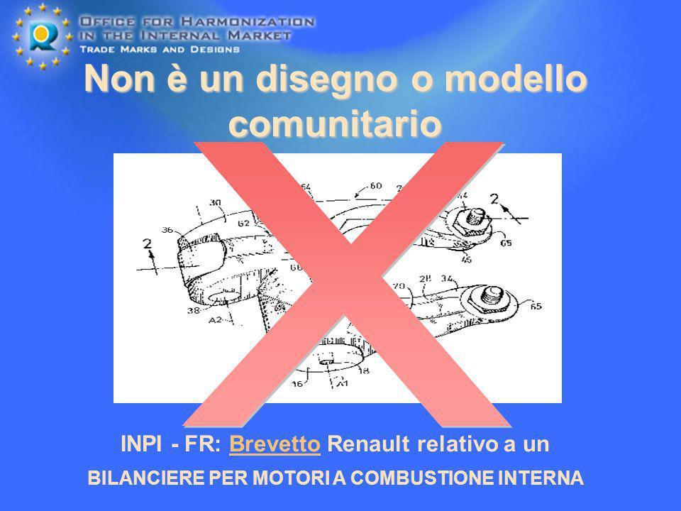 Non è un disegno o modello comunitario INPI - FR: Brevetto Renault relativo a un BILANCIERE PER MOTORI A COMBUSTIONE INTERNA