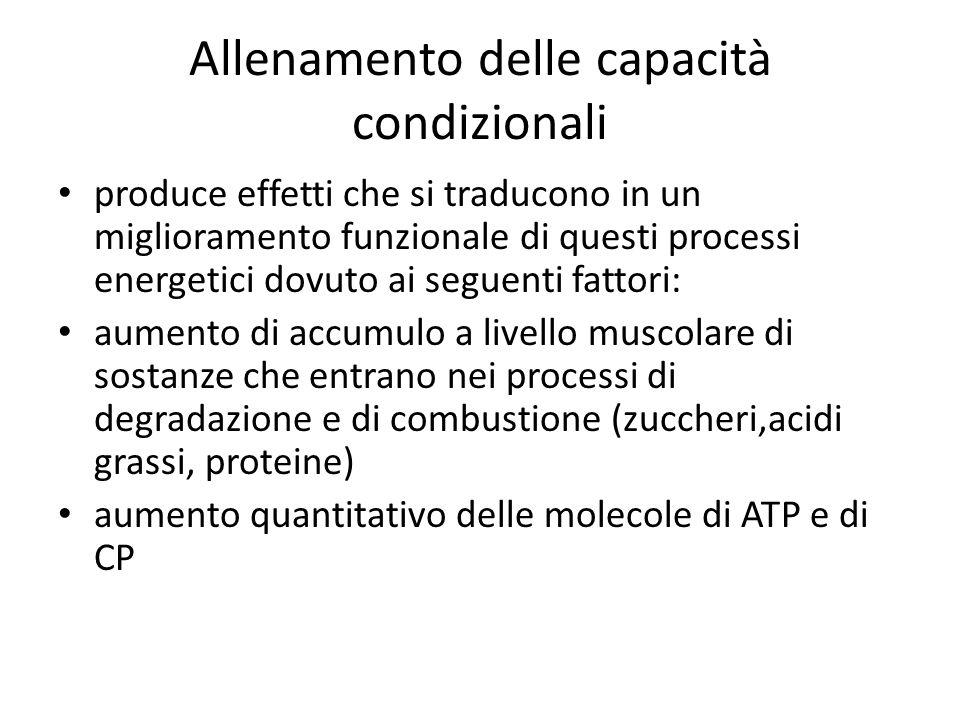 RESISTENZA DI BREVE DURATA: è predominante limpegno del meccanismo anaerobico-lattacido.