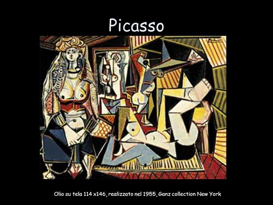 Picasso Olio su tela 114 x146, realizzato nel 1955, Ganz collection New York