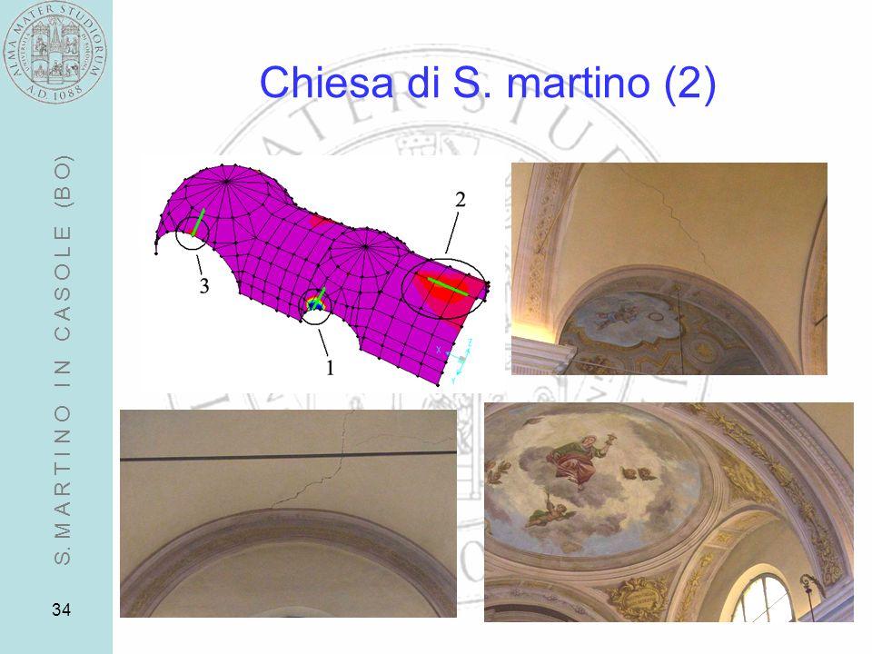 34 Chiesa di S. martino (2) S. M A R T I N O I N C A S O L E (B O)