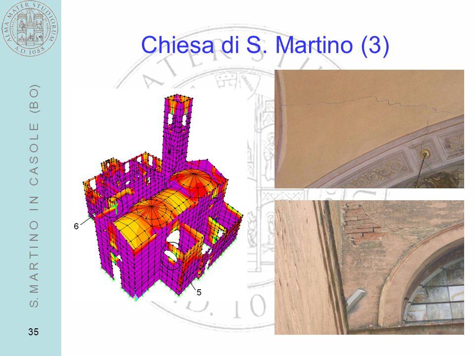35 Chiesa di S. Martino (3) S. M A R T I N O I N C A S O L E (B O)