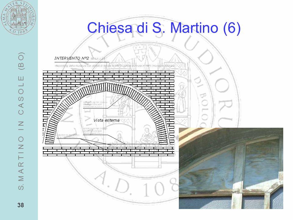 38 Chiesa di S. Martino (6) S. M A R T I N O I N C A S O L E (B O)