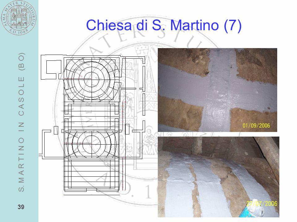 39 Chiesa di S. Martino (7) S. M A R T I N O I N C A S O L E (B O)