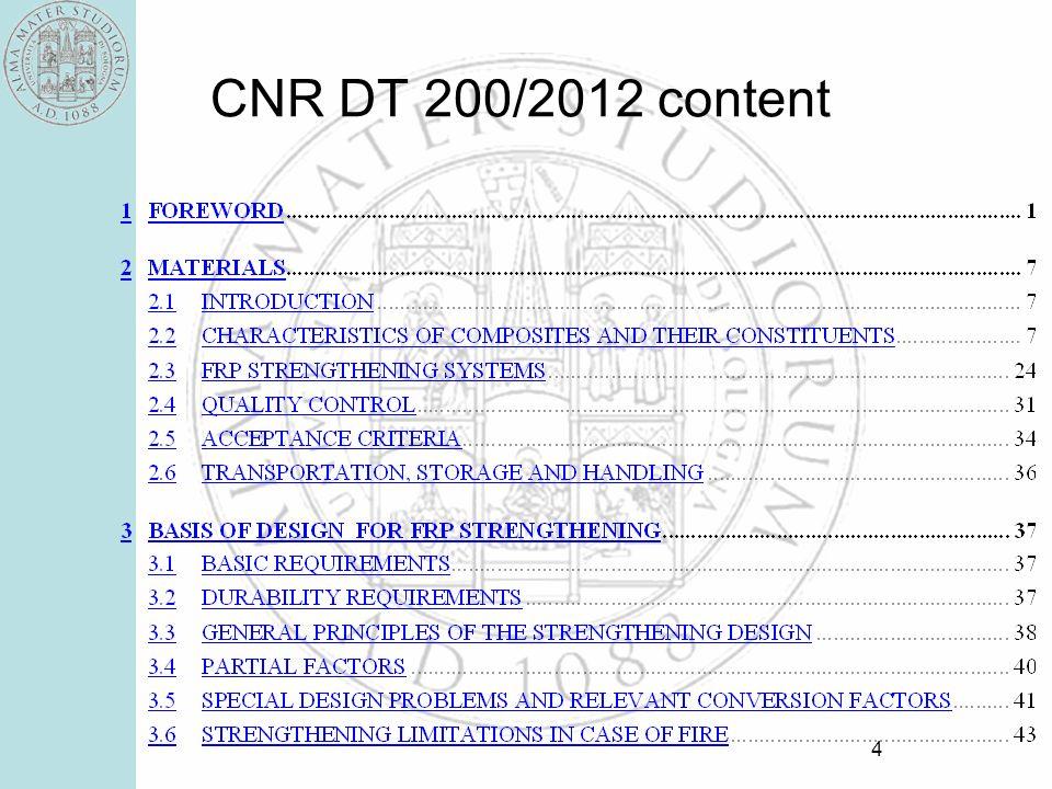 CNR DT 200/2012 content 4