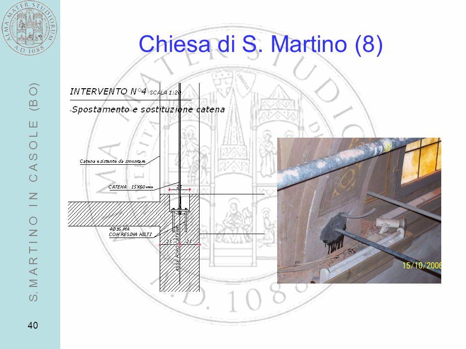 40 Chiesa di S. Martino (8) S. M A R T I N O I N C A S O L E (B O)