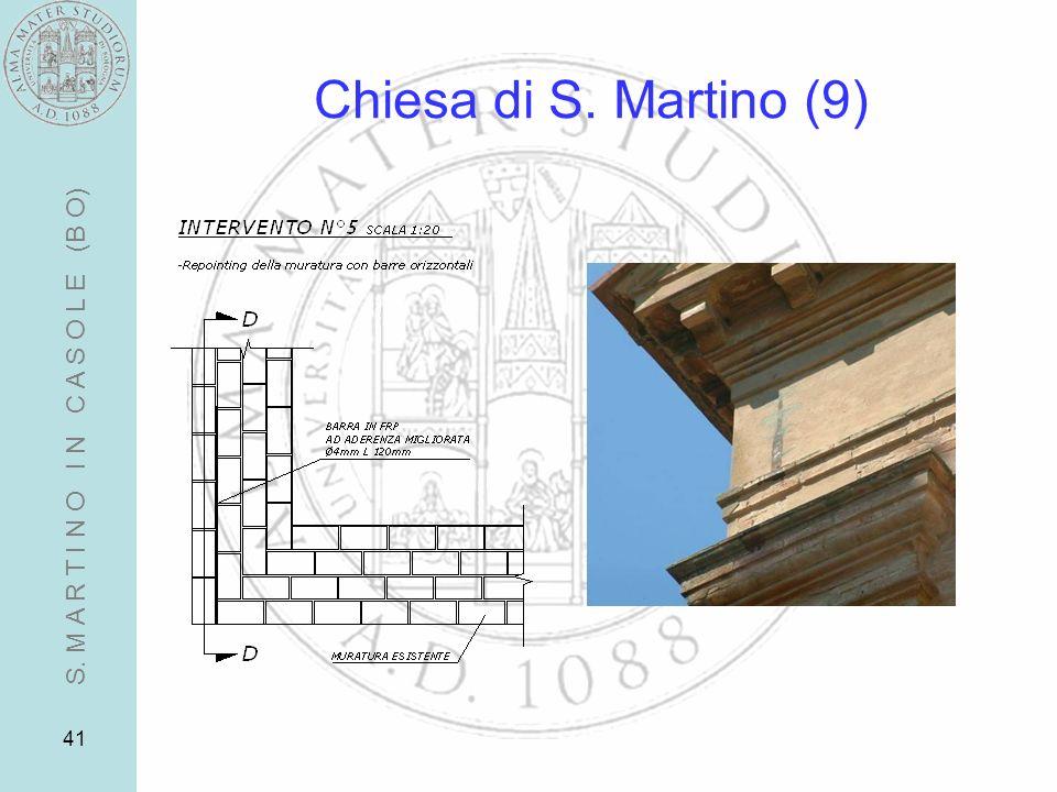 41 Chiesa di S. Martino (9) S. M A R T I N O I N C A S O L E (B O)