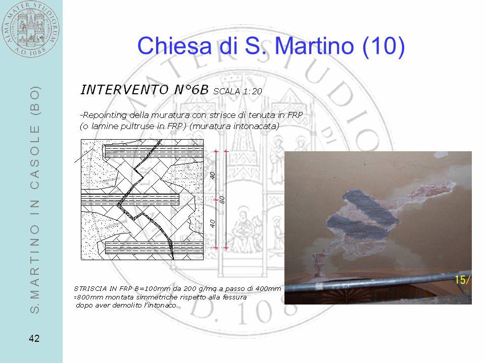 42 Chiesa di S. Martino (10) S. M A R T I N O I N C A S O L E (B O)