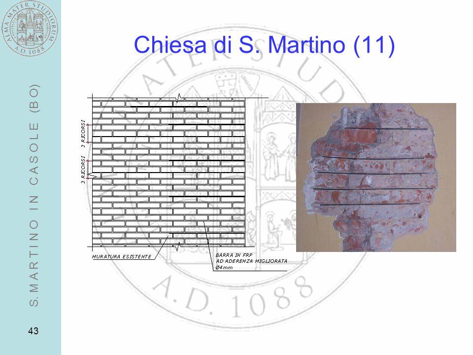 43 Chiesa di S. Martino (11) S. M A R T I N O I N C A S O L E (B O)