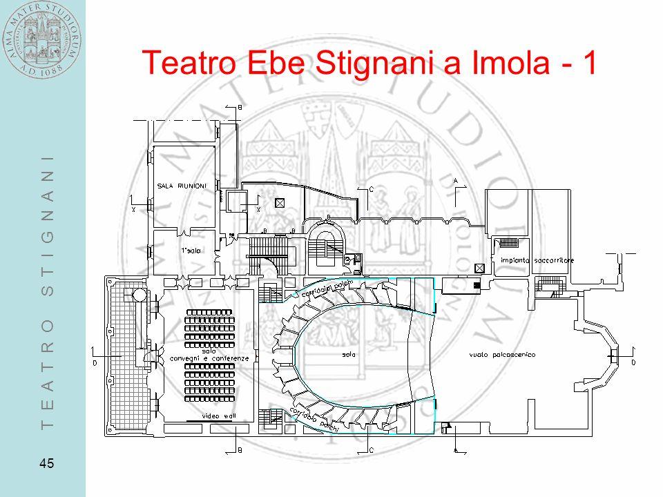 45 Teatro Ebe Stignani a Imola - 1 T E A T R O S T I G N A N I