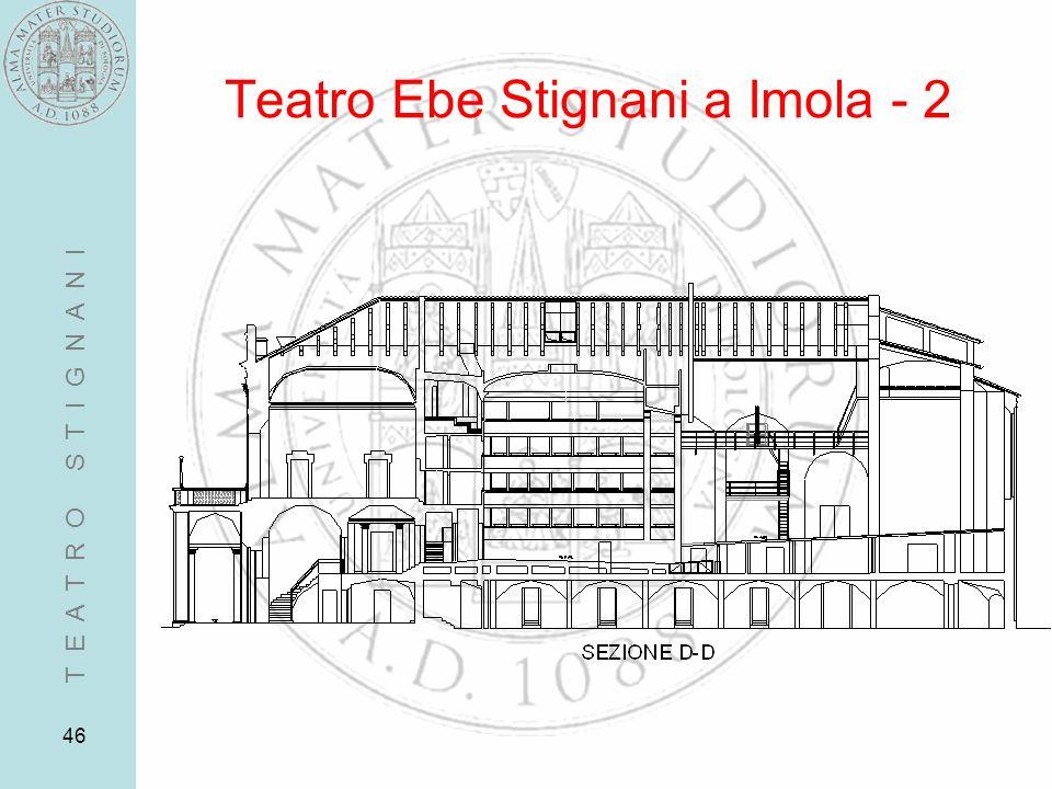 46 Teatro Ebe Stignani a Imola - 2 T E A T R O S T I G N A N I