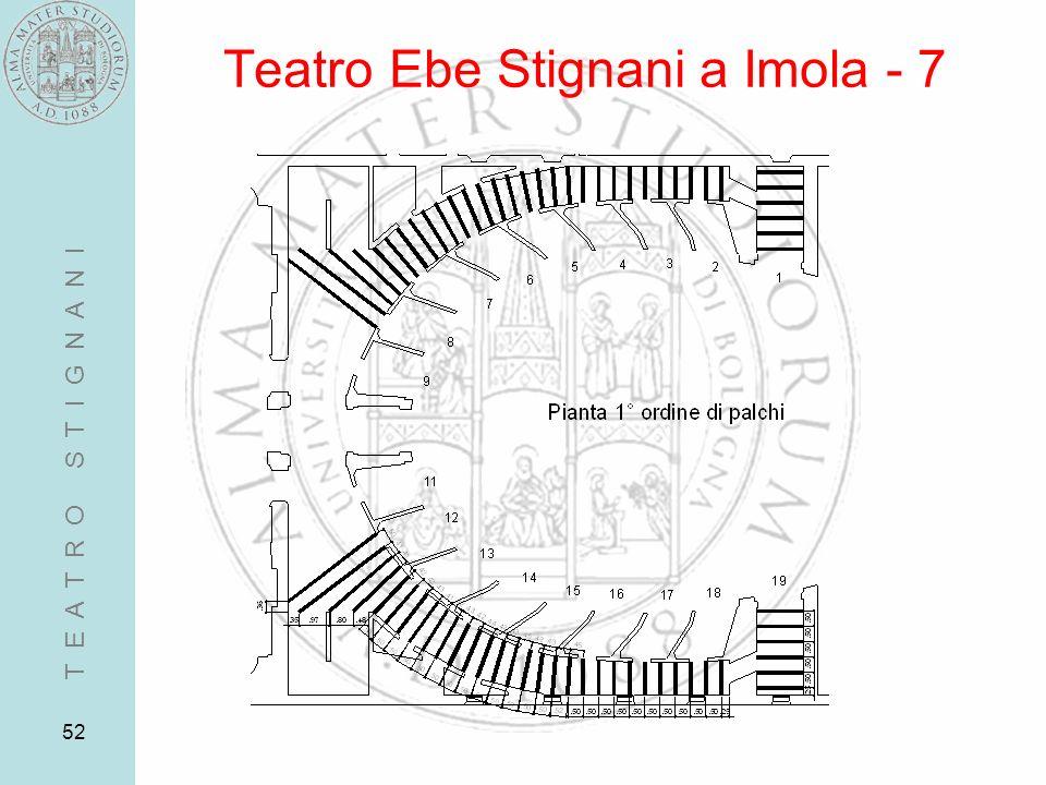 52 Teatro Ebe Stignani a Imola - 7 T E A T R O S T I G N A N I