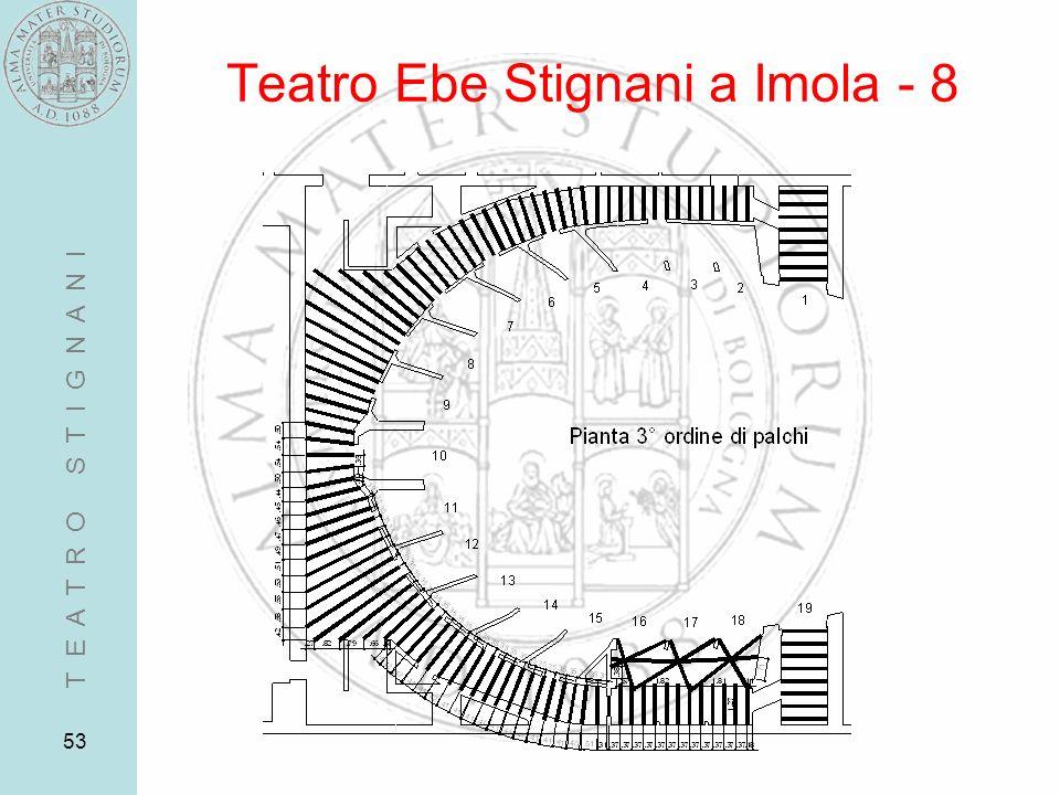 53 Teatro Ebe Stignani a Imola - 8 T E A T R O S T I G N A N I