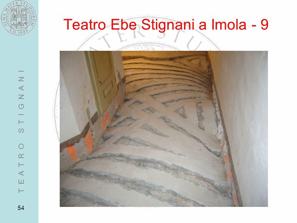 54 Teatro Ebe Stignani a Imola - 9 T E A T R O S T I G N A N I