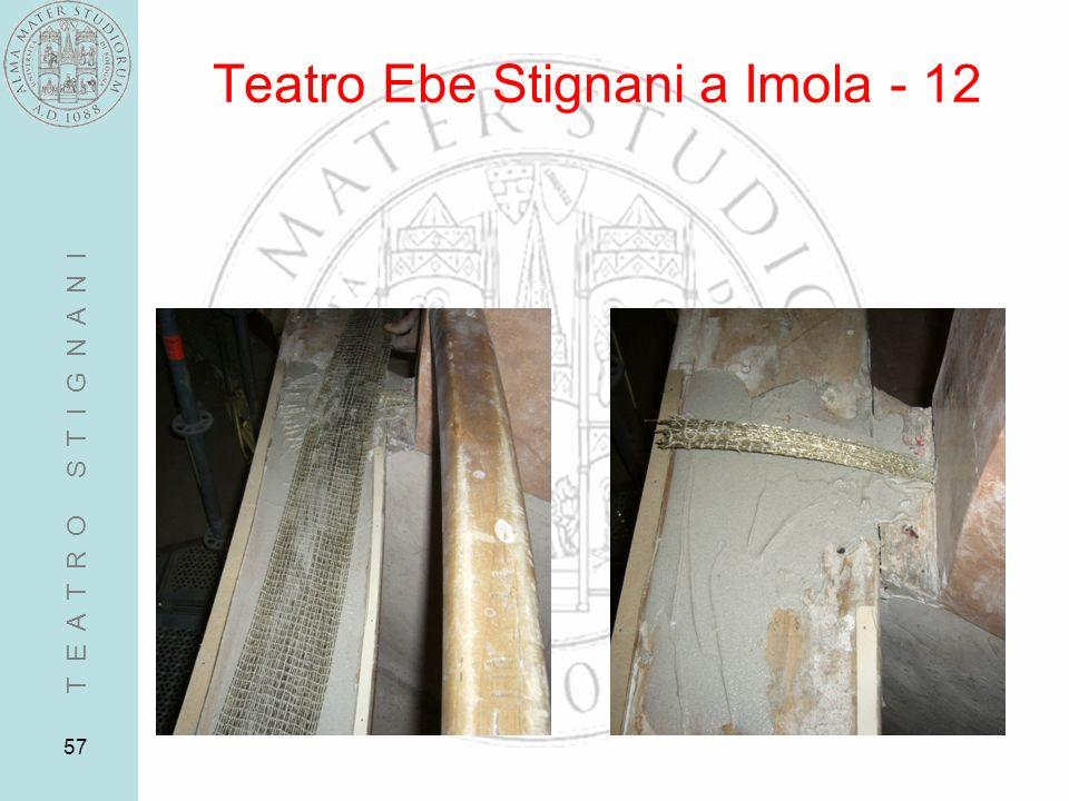 57 Teatro Ebe Stignani a Imola - 12 T E A T R O S T I G N A N I