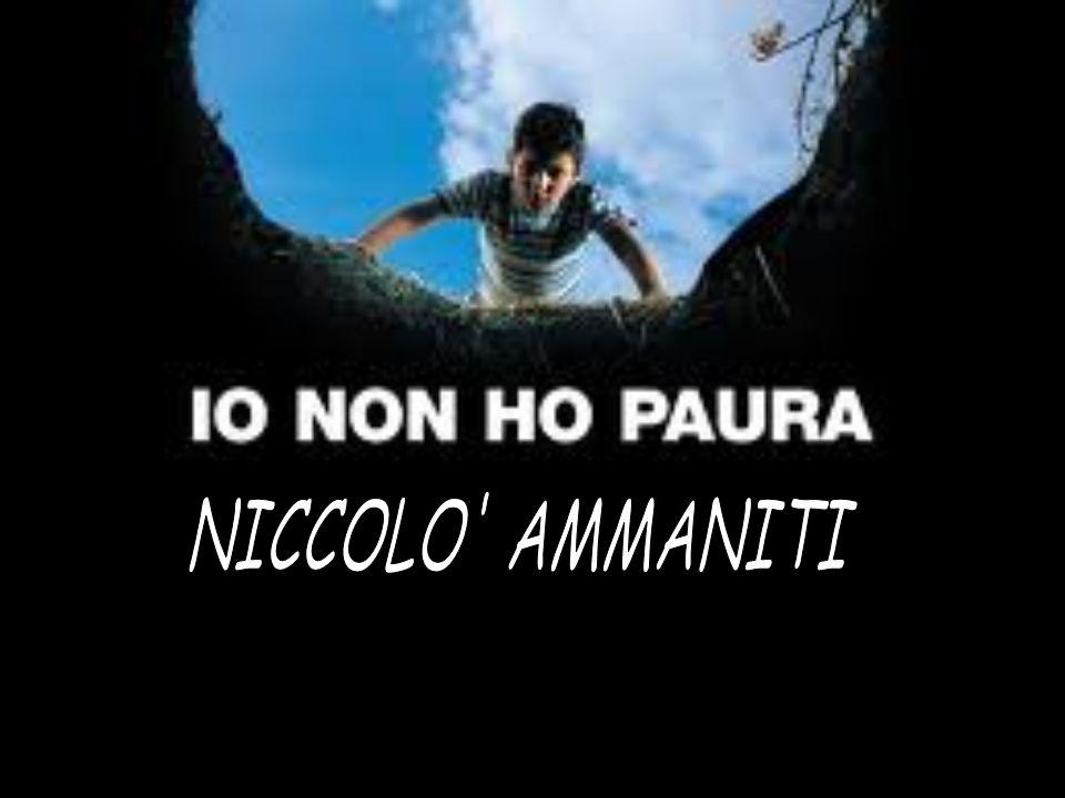 NICCOLO AMMANITI Niccolò Ammaniti è nato a Roma il 25 settembre 1966.