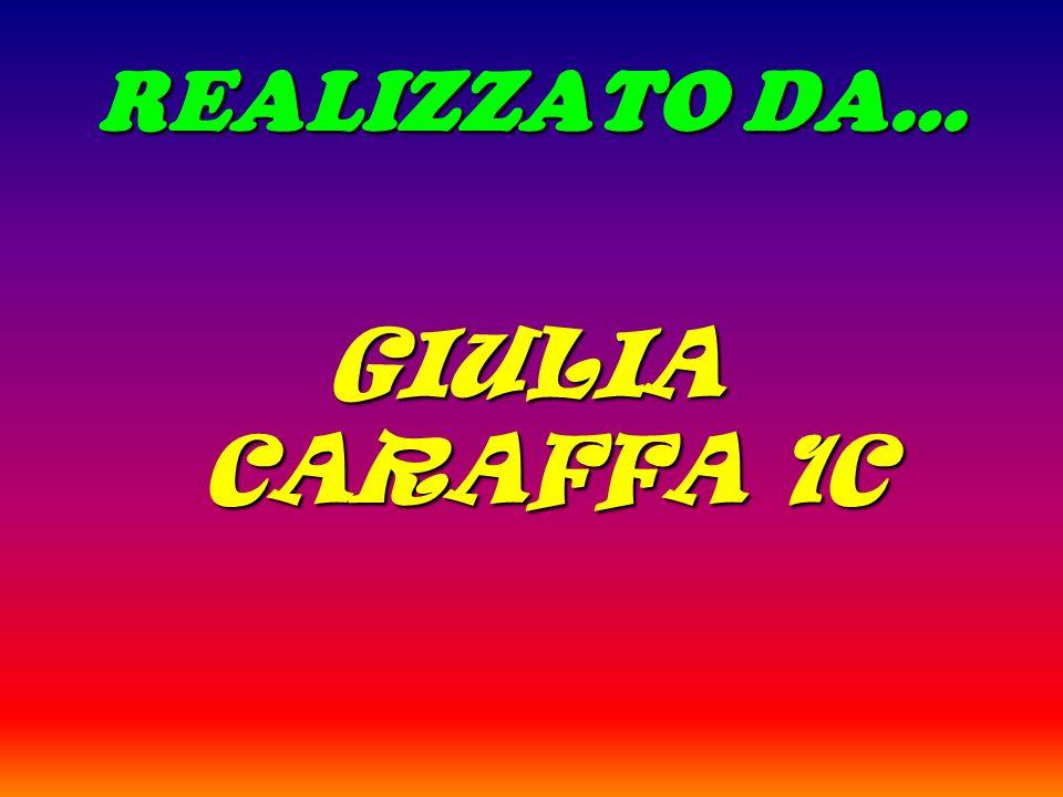 REALIZZATO DA… GIULIA CARAFFA 1C