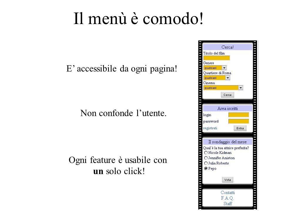 Due modalità UTENTE : GUEST: Meno possibilità Non richiede registrazione Maggiori possibilità Deve registrarsi al sito