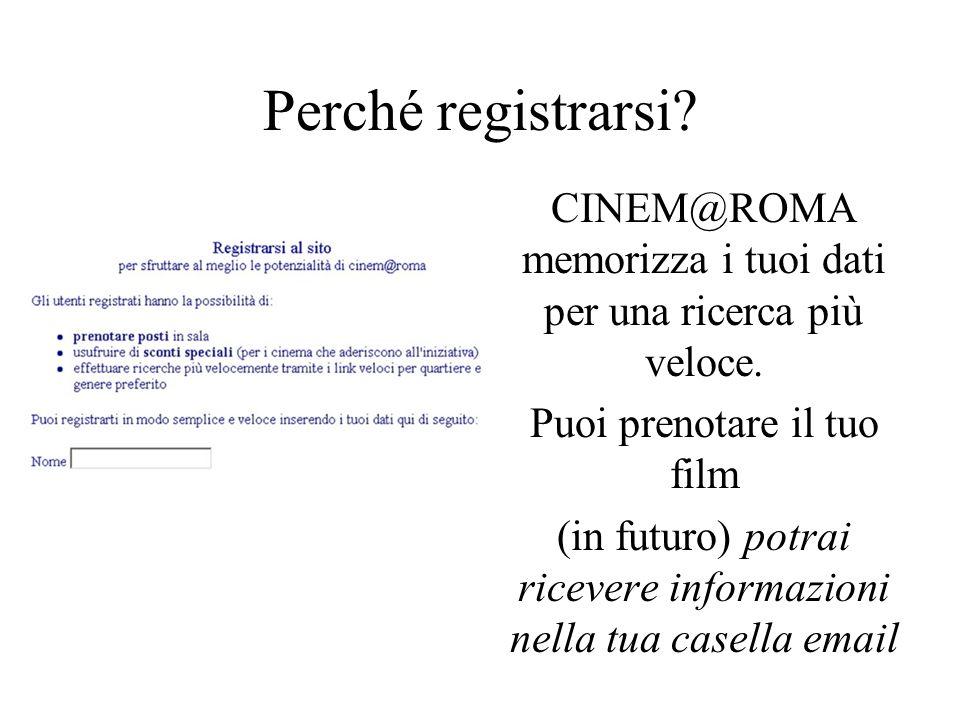Come cerco un film su CINEM@ROMA.