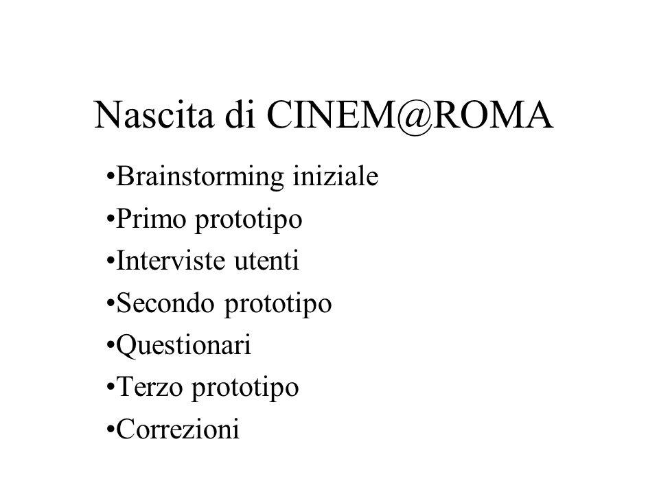 Cosa offre CINEM@ROMA.