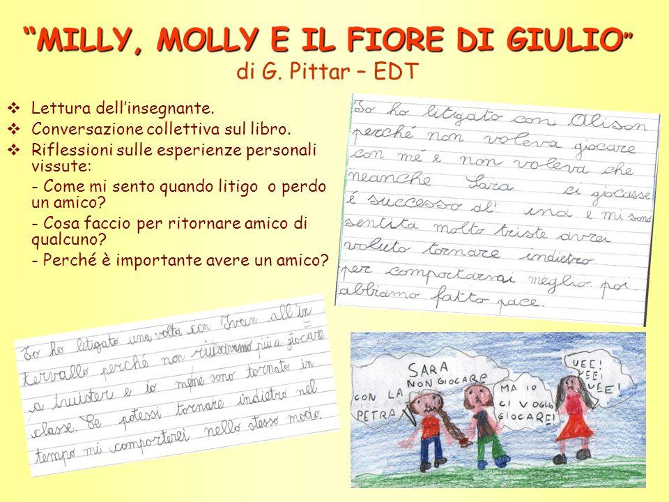 MILLY, MOLLY E IL FIORE DI GIULIO MILLY, MOLLY E IL FIORE DI GIULIO di G.