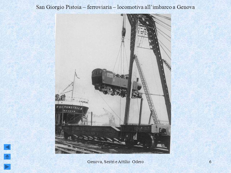 Genova, Sestri e Attilio Odero7 fine