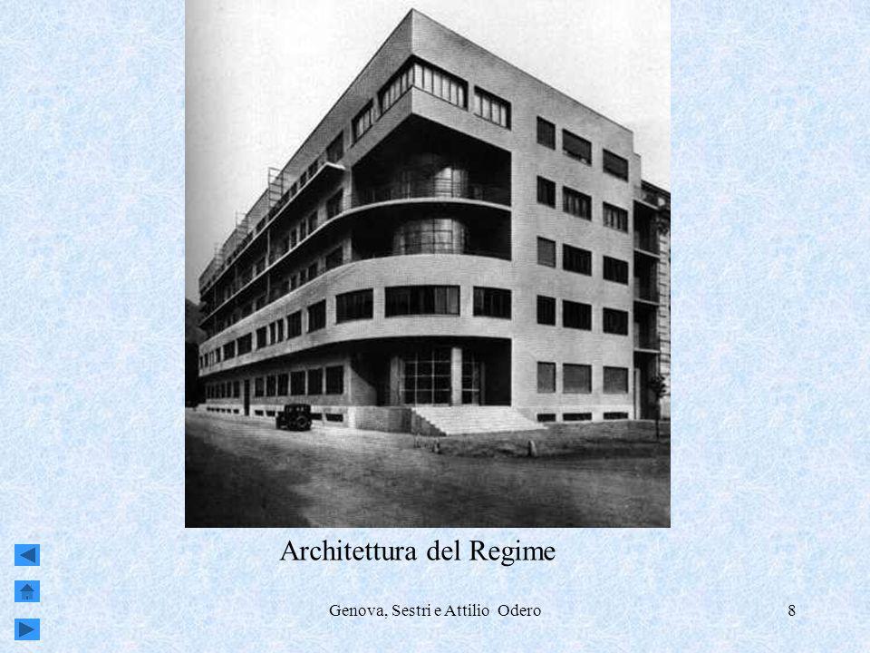 Genova, Sestri e Attilio Odero8 Architettura del Regime