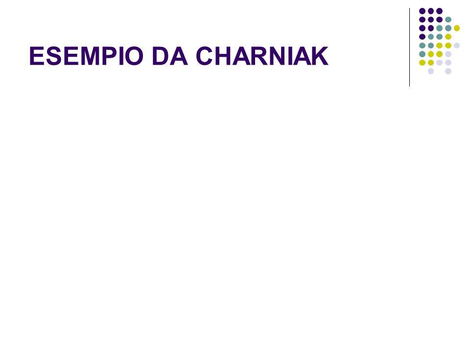 ESEMPIO DA CHARNIAK