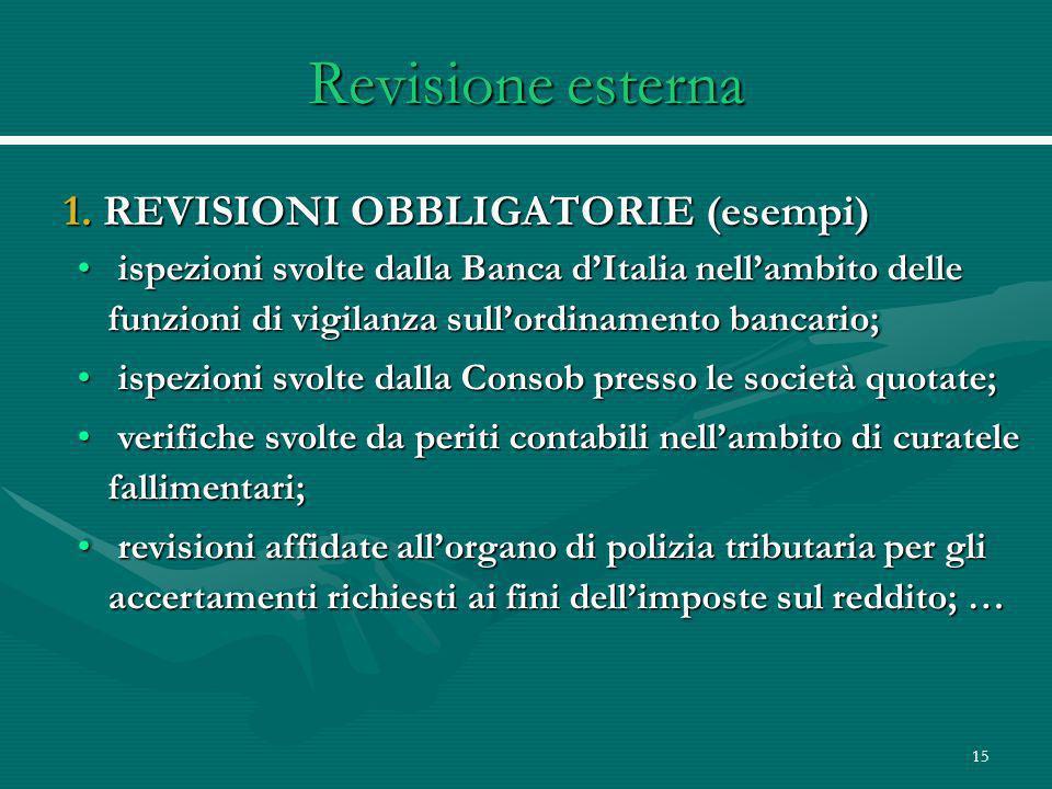15 Revisione esterna 1.