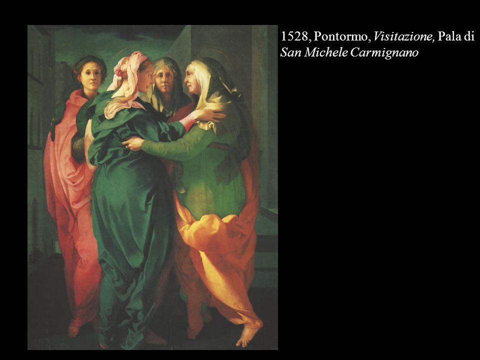 1528, Pontormo, Visitazione, Pala di San Michele Carmignano