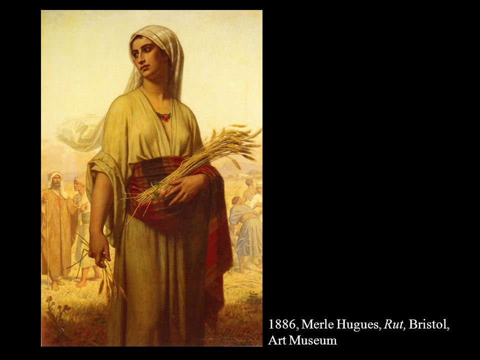 … e Rut si attaccò a lei … … E si alzò lei e le sue nuore e tornò dai campi di Moab, perché aveva ascoltato nelle steppe di Moab che YHWH aveva visitato il suo popolo per dare loro pane E uscì da quel luogo in cui si trovava e le sue due nuore con lei.