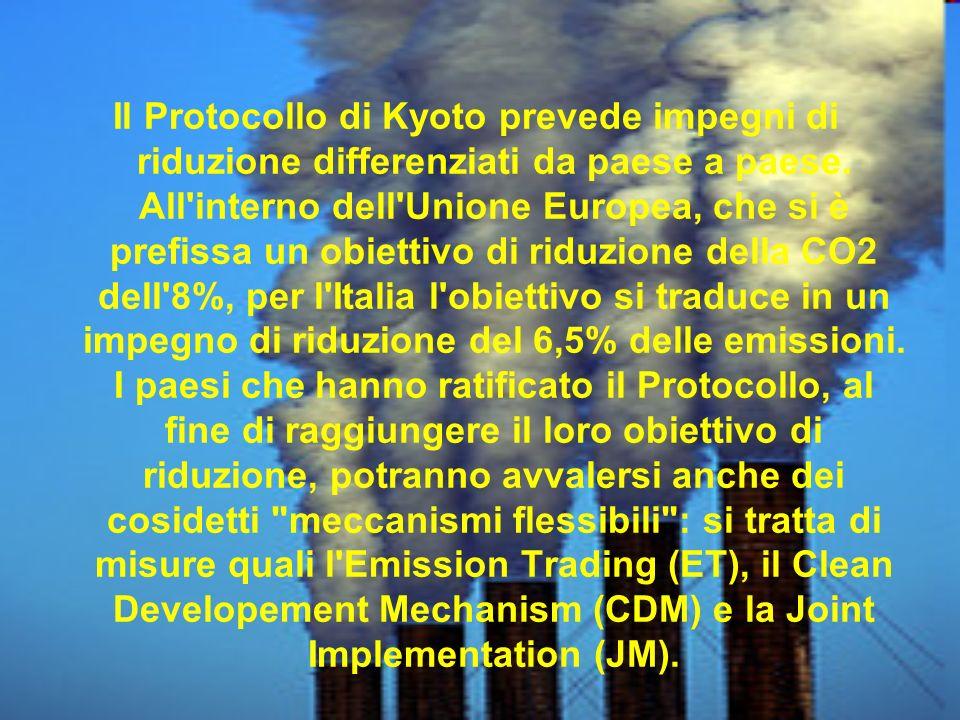 Convenzione quadro sui cambiamenti climatici delle Nazioni Unite (United nations framework convention on climtae change - Unfcc) sono positivi.