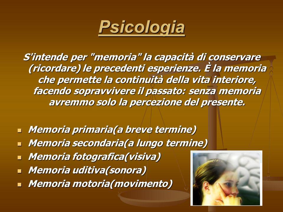 Psicologia S'intende per
