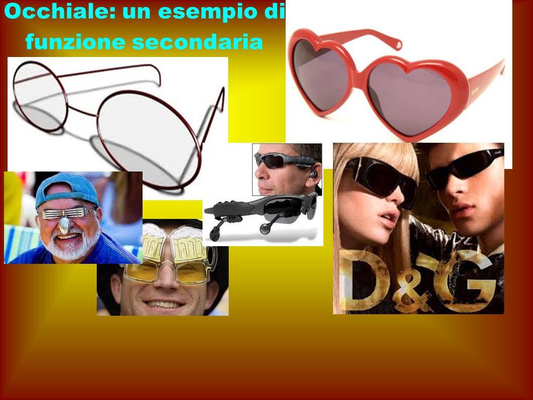 Occhiale: un esempio di funzione secondaria
