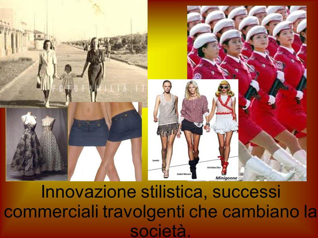Innovazione stilistica, successi commerciali travolgenti che cambiano la società.