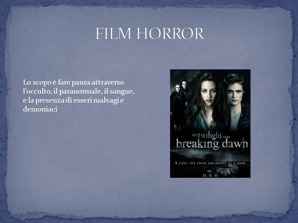 Lo scopo è fare paura attraverso locculto, il paranormale, il sangue, e la presenza di esseri malvagi e demoniaci
