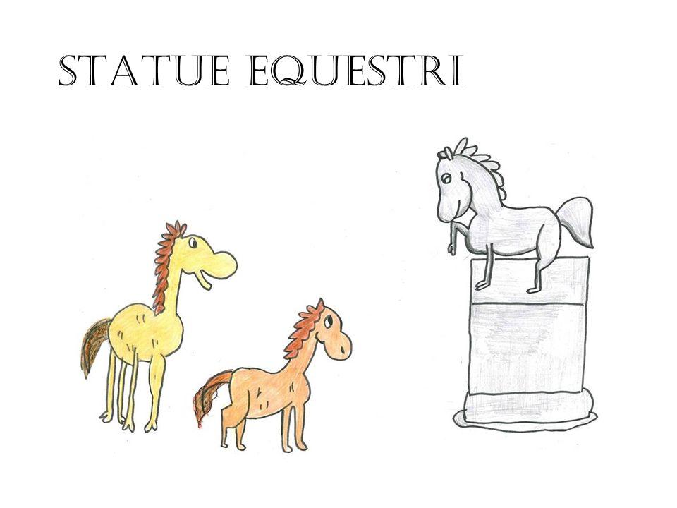 STATUE EQUESTRI