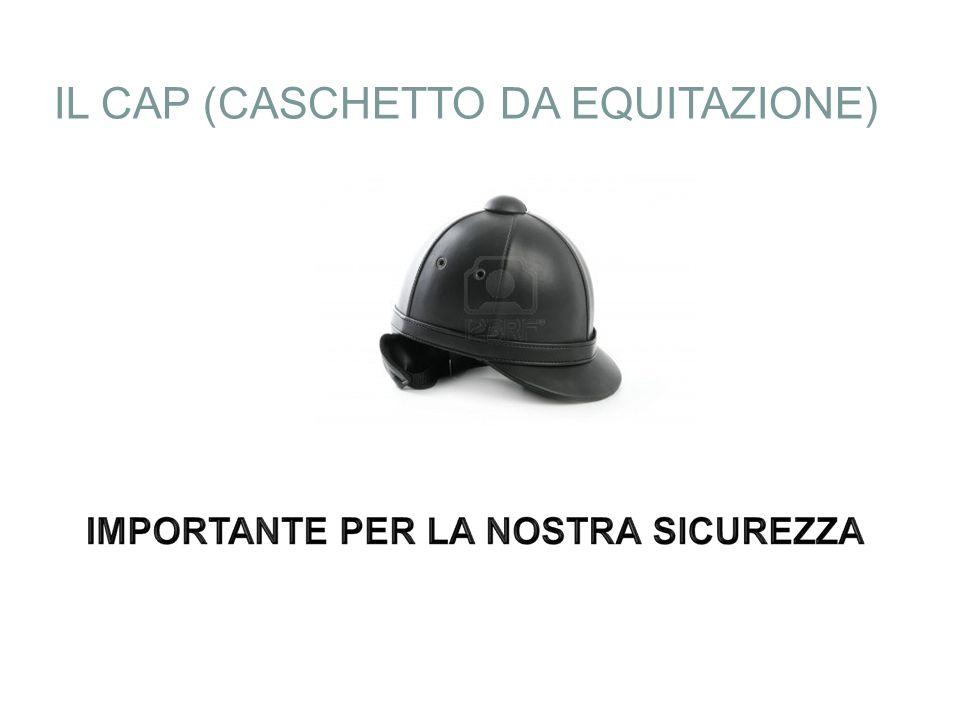 IL CAP (CASCHETTO DA EQUITAZIONE)