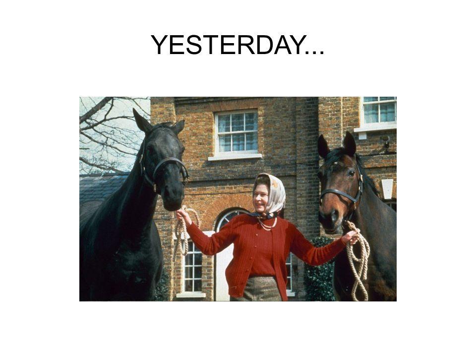 YESTERDAY...